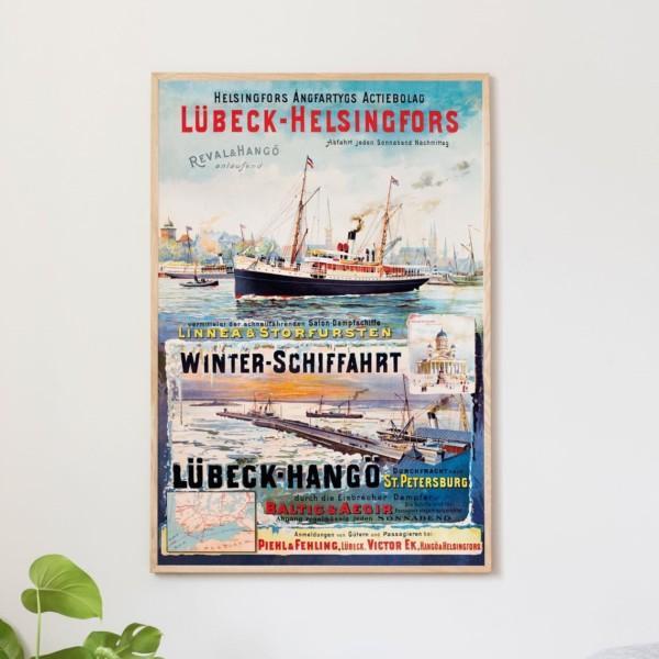 Lübeck - Helsinki juliste